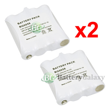 Two Way 2 Way Radio Replacement Battery 350mAh NiCd for Midland