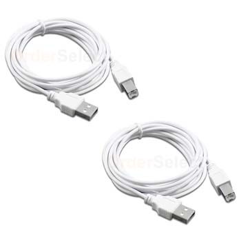 USB Printer Scanner Cable Cord For Brother MFC 6490CW 6890CDW  7000fc 7150c 9650